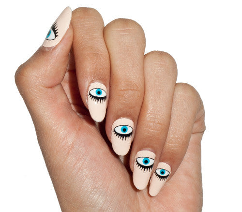 All-Seeing Eyes - nail wraps - Scratch - 1