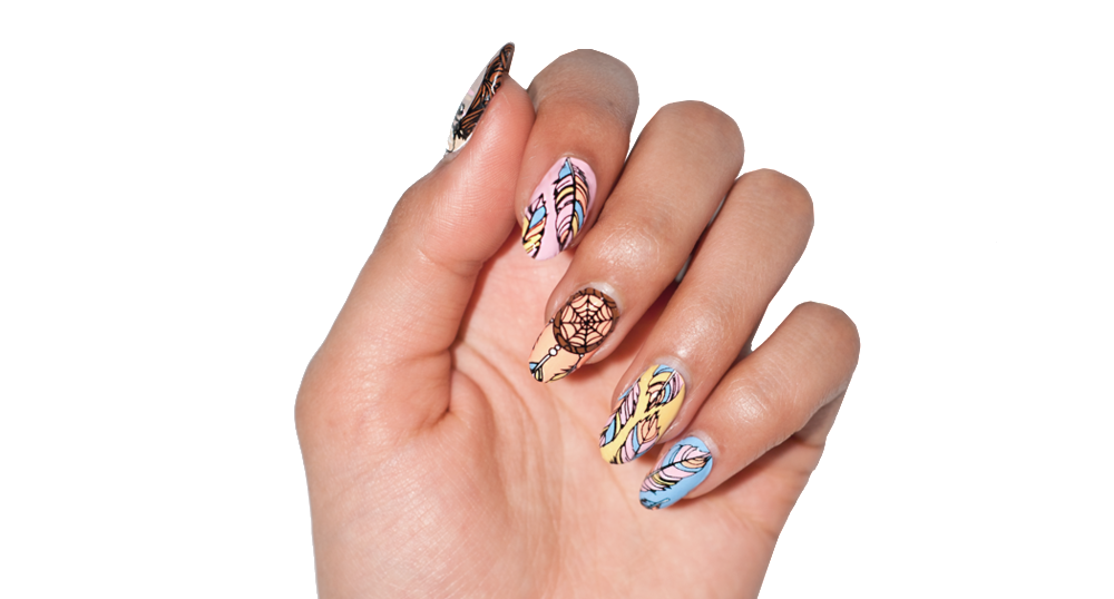 Take Flight - nail wraps - Scratch - 3