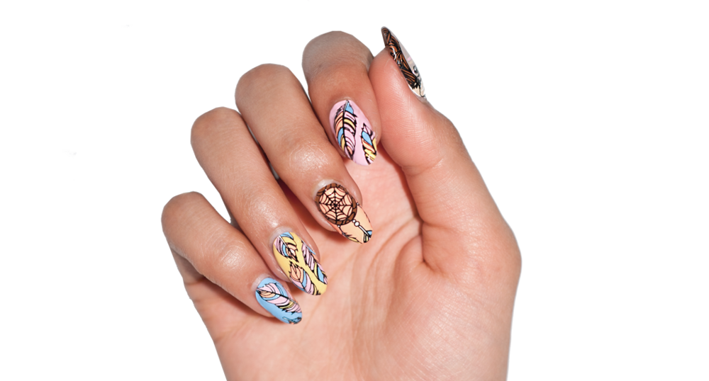 Take Flight - nail wraps - Scratch - 2