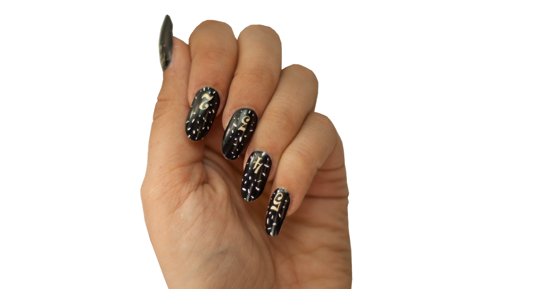 Final Countdown - Nail Wrap - Scratch - 2