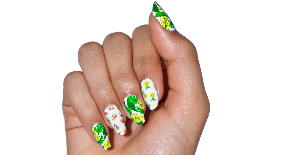 Fruit Basket - nail wraps - Scratch - 3
