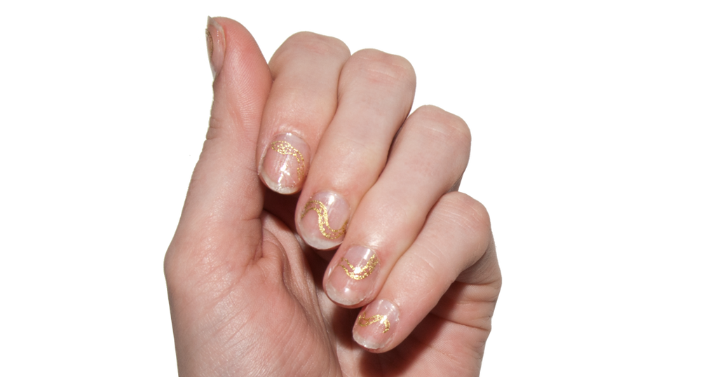 Gilded Serpents - Nail Wrap - Scratch - 2