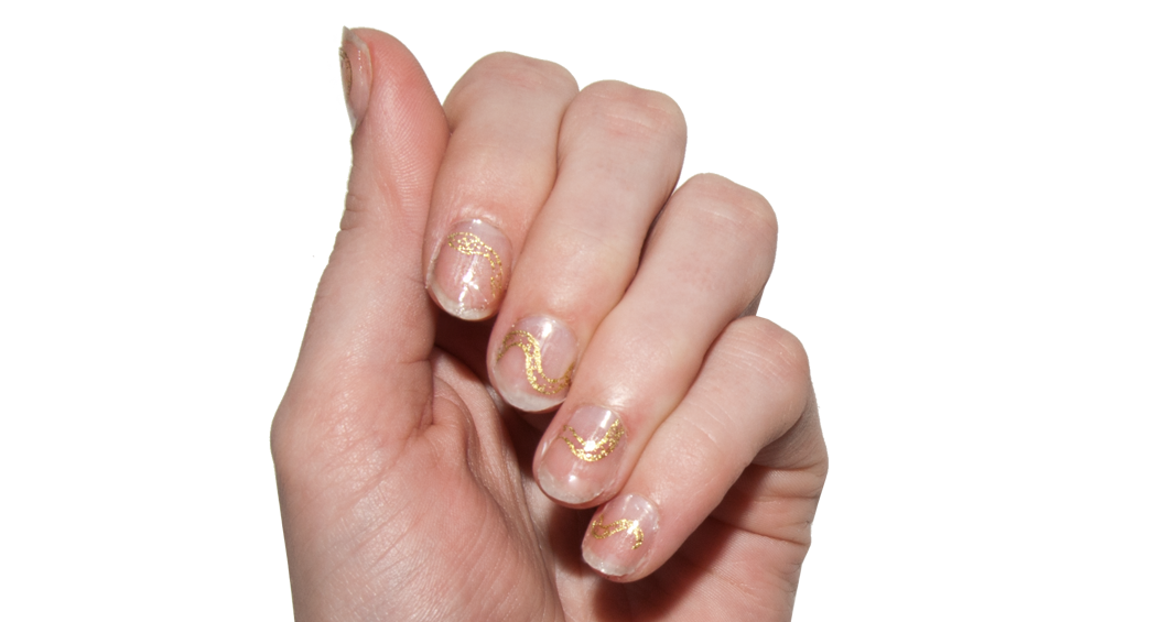 Gilded Serpents - Nail Wrap - Scratch - 3