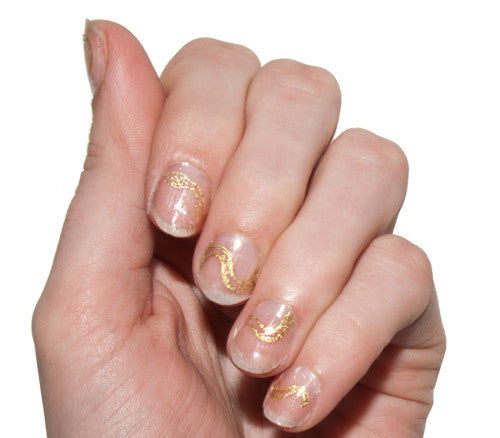 Gilded Serpents - Nail Wrap - Scratch - 1