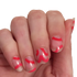 Heartbeats - nail wraps - Scratch - 2