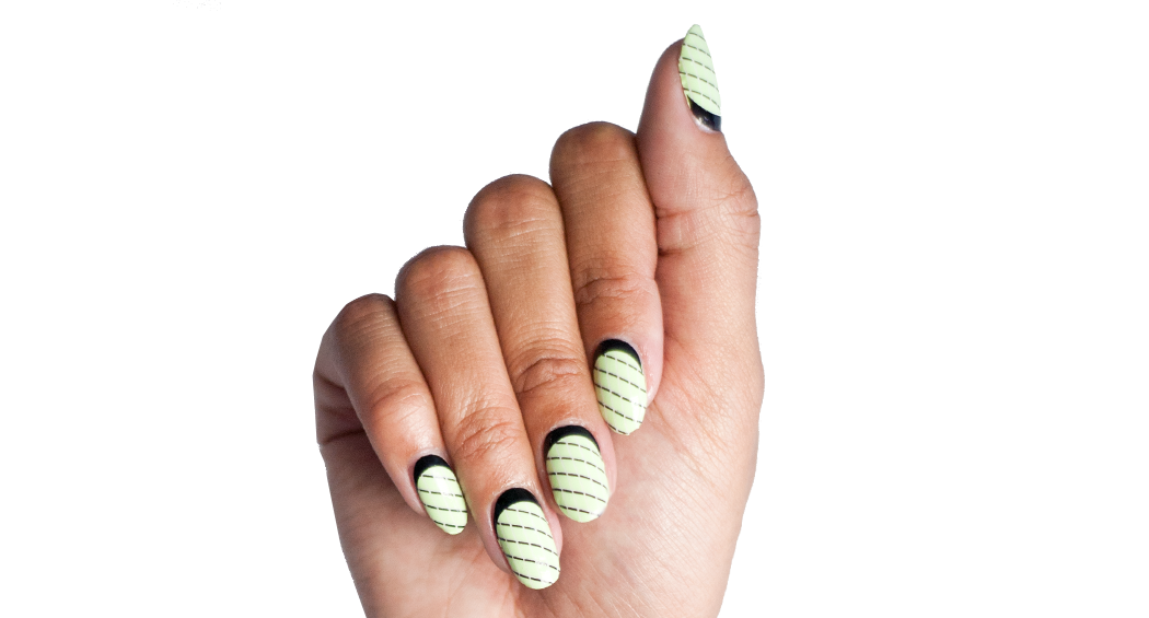 The Ladylike Nail - Nail Wrap - Scratch - 2