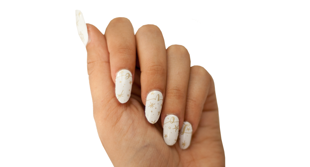 Love and Cheer - Nail Wrap - Scratch - 3