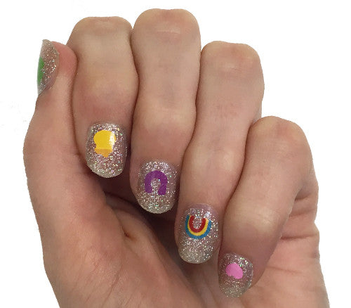 Lucky You - nail wraps - Scratch - 1