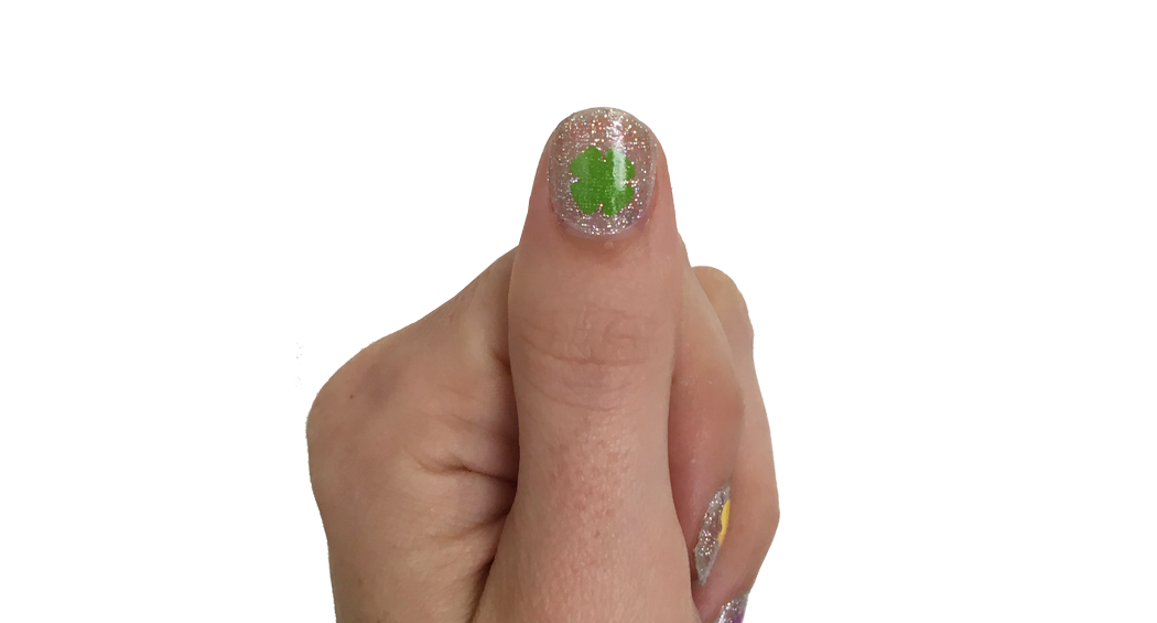 Lucky You - nail wraps - Scratch - 3