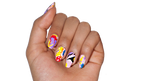 Popsicle Puddle - nail wraps - Scratch - 2