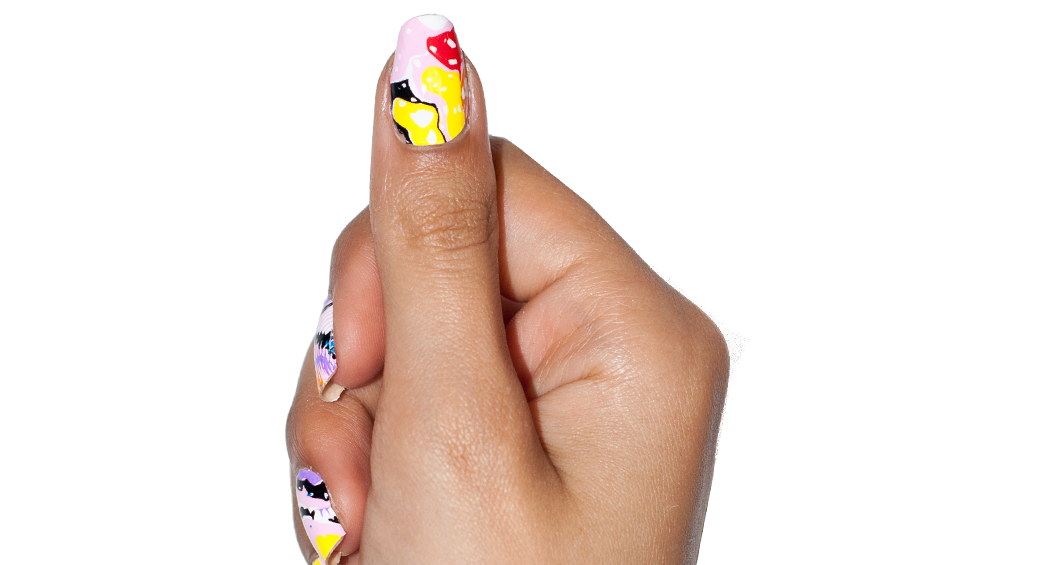 Popsicle Puddle - nail wraps - Scratch - 3