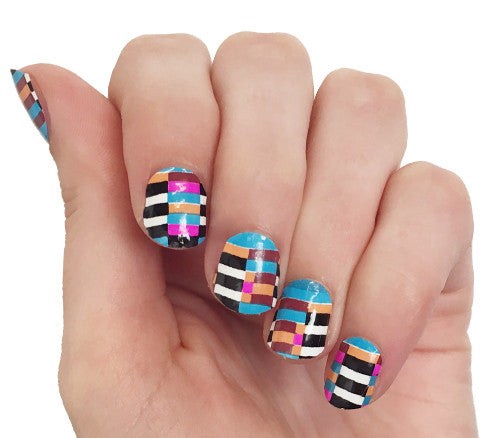 Check - nail wraps - Scratch - 1
