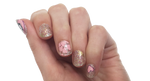 Unicorn - nail wraps - Scratch - 2