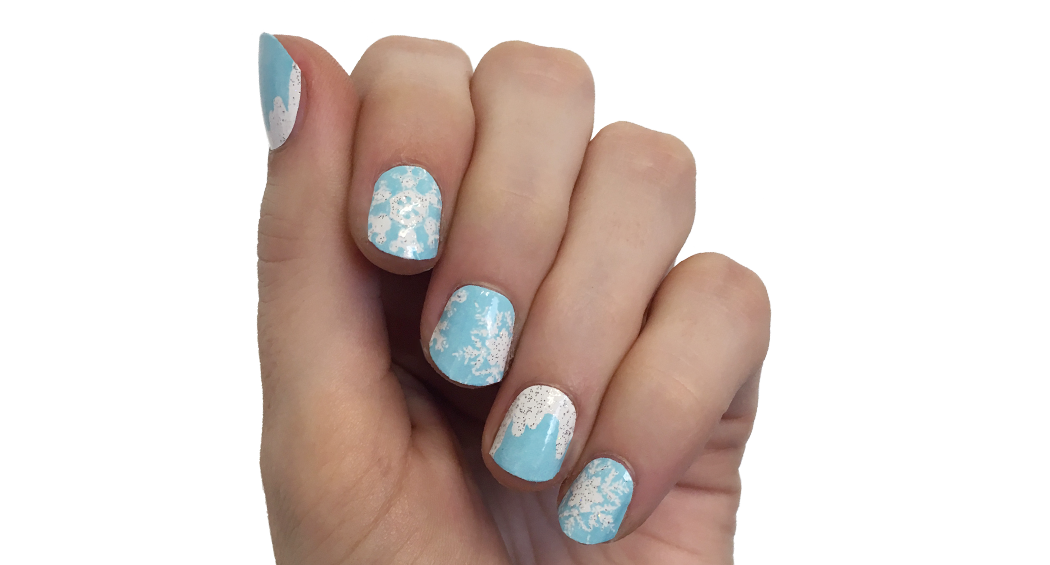 Winter Wonderland - nail wraps - Scratch - 2