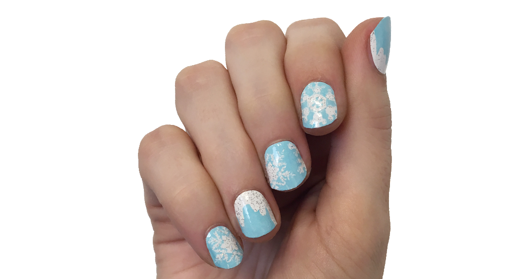 Winter Wonderland - nail wraps - Scratch - 3