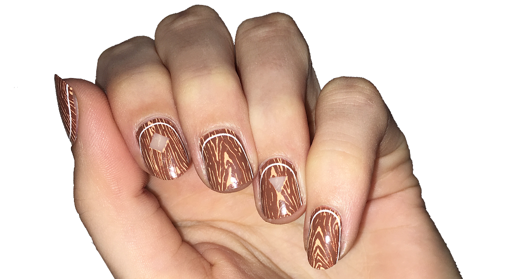 The Great Northern - nail wraps - Scratch - 2