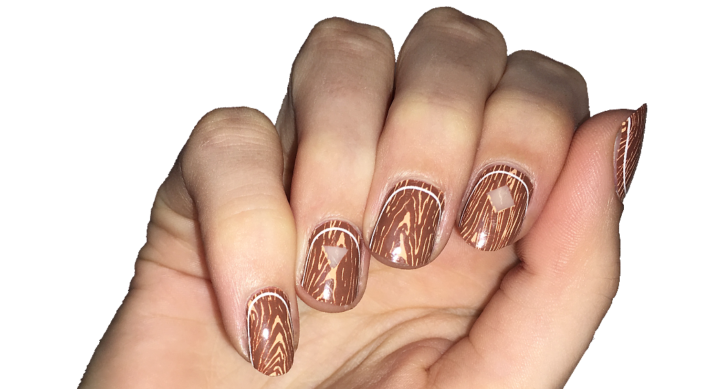 The Great Northern - nail wraps - Scratch - 3