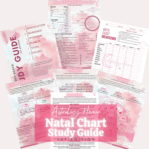 Astrology Heaux Birth Chart Study Guide (1st Ed. - Digital)