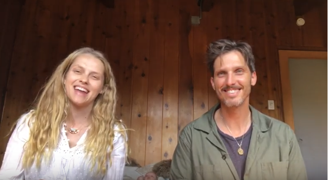 VLOG: A 5-minute Guided Meditation with Teresa Palmer and Daniel Ahearn