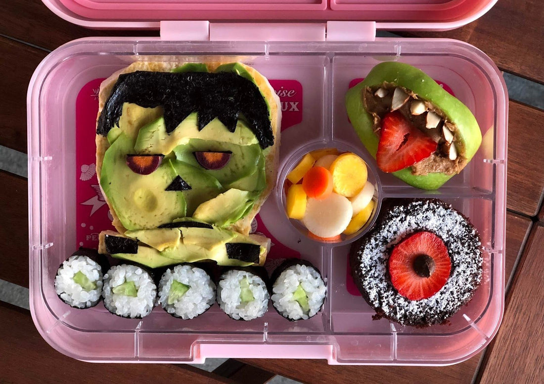 Vegan Bento Boxes - Plant based lunches for little and big kids by Autumn O'Neil