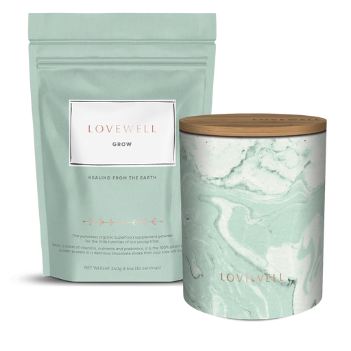 Lovewell Grow Subscription with Canister