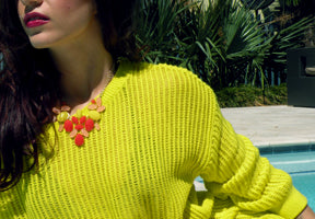 Citrus Luxe Necklace Emli Shops