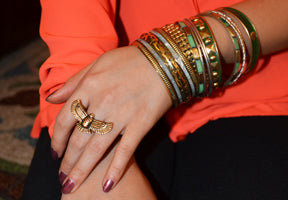 Ring and bracelet Emli Shops