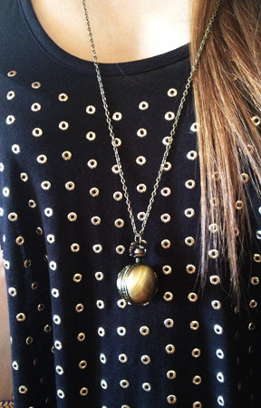 Pocket Watch Necklace Emli Shops