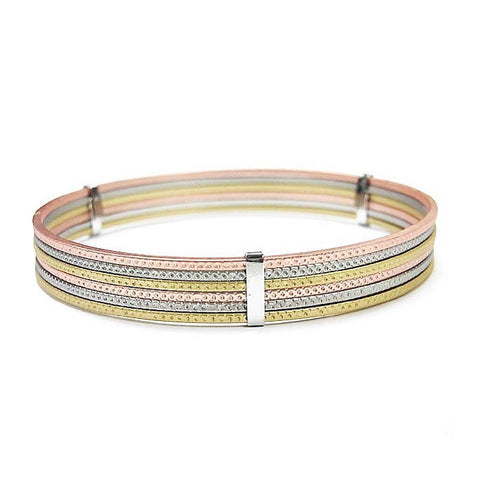 Stacked Bangle Bracelet