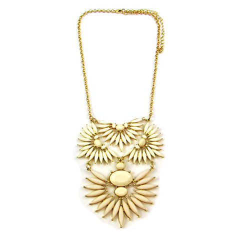 Ivory Resort Bib Necklace