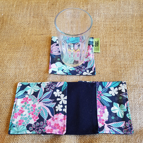 Cotton Coasters (Floral)