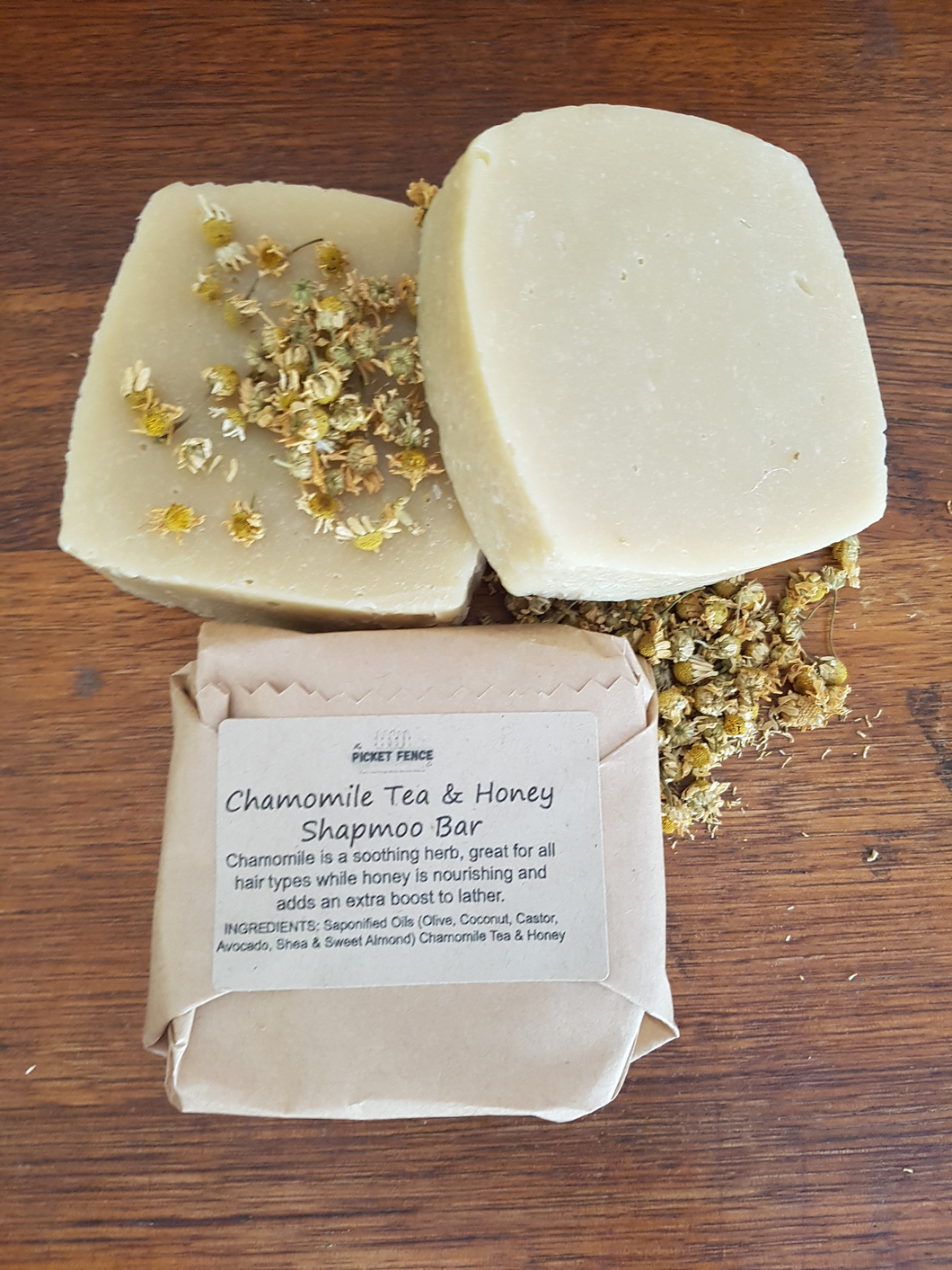 Chamomile Tea & Honey Shampoo Bar