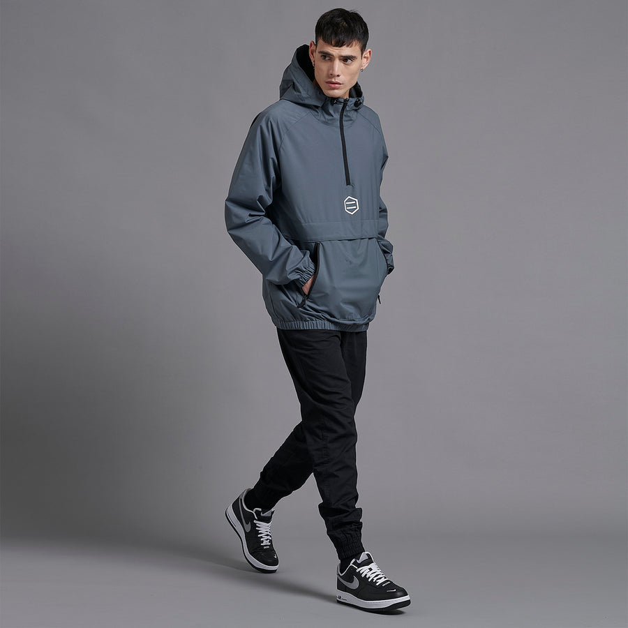 Grey Slight Anorak