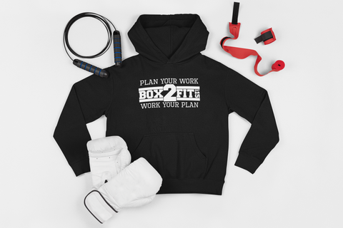 Plan Your Work Work Your Plan Hoodie