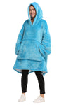 Oversized Hoodie Blanket Portable for Adults