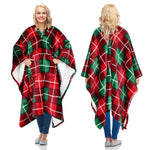 Throw Blanket Wearable Robe for Adult,No sleeves