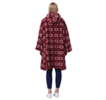 Oversized Sweatshirt Blanket Hoodie with Large Front Pocket for Adults