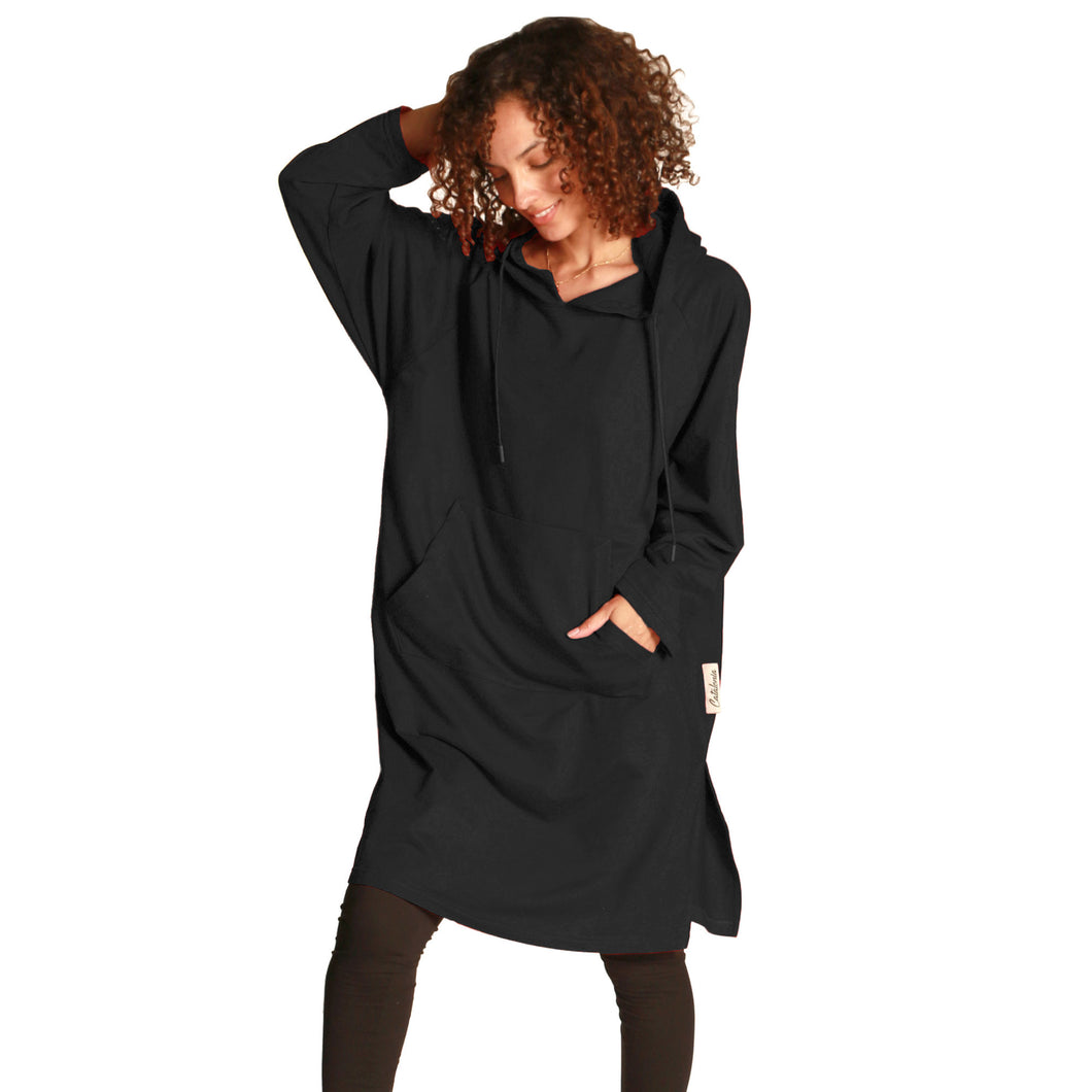 Women's Hoodie Sweatshirt Dress