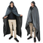 Waterproof Stadium Blanket, Outdoor Hooded Blanket Poncho
