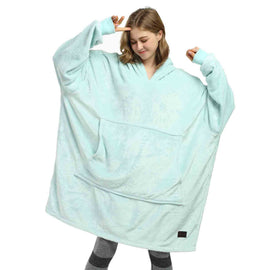 Oversized Sweatshirt Blanket Hoodie For Adults