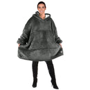 Oversized Hoodie Blanket Sweatshirt With Large Front Pocket