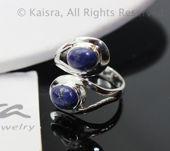 Charoite 925 Sterling Silver Ring