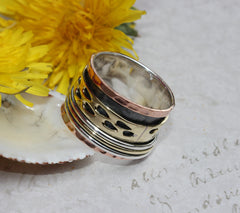 Meditation Spinner Ring