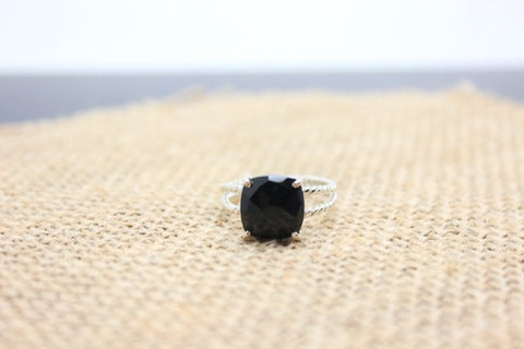 Black Onyx 925 Sterling Silver Ring