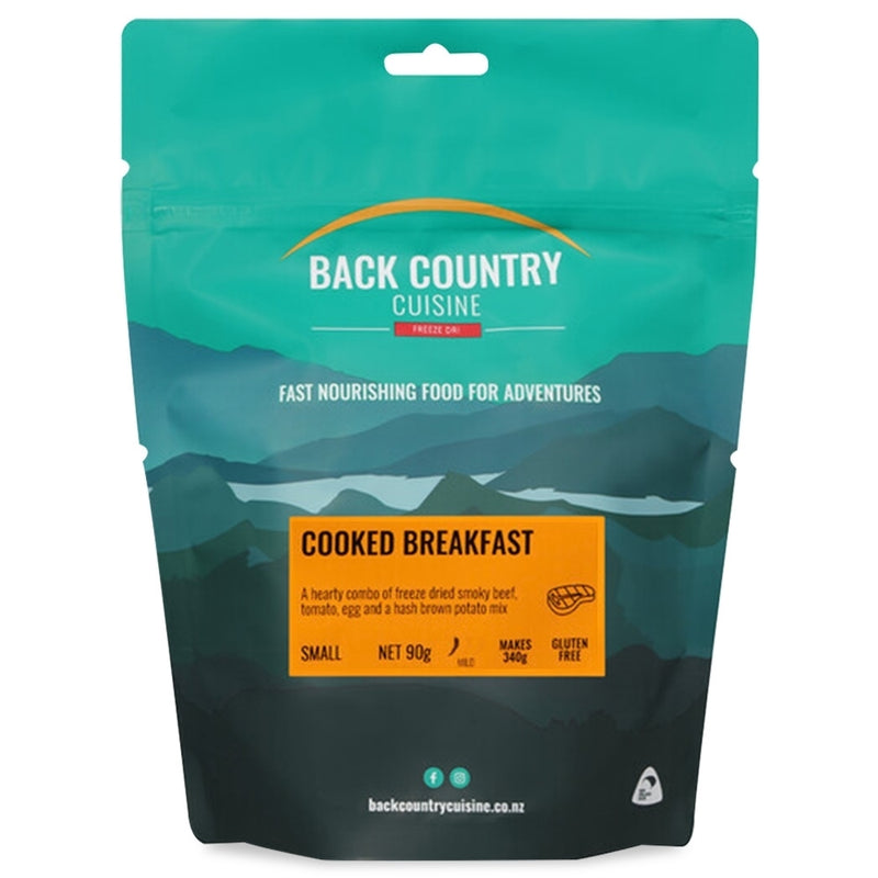 Back Country Cuisine : Cooked Breakfast - Gluten Free - 1 Serve (Small)