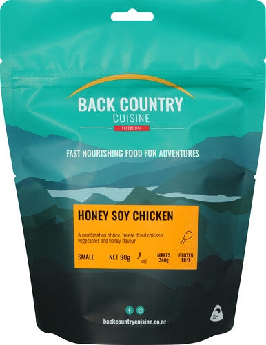 Back Country Cuisine : Honey Soy Chicken - Gluten Free - 1 Serve (Small)