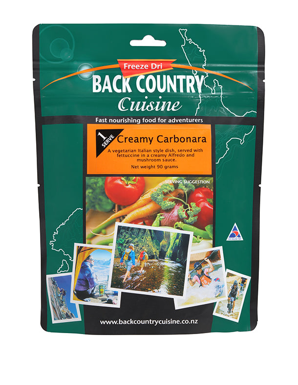 Back Country: Creamy Carbonara - 2 Serve
