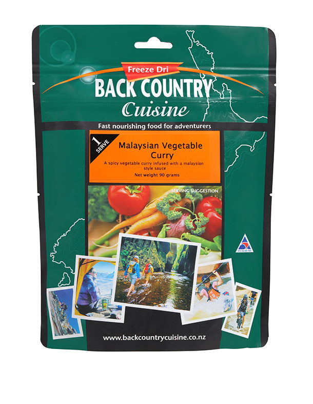 Back Country : Malaysian Vegetable Curry - 1 Serve