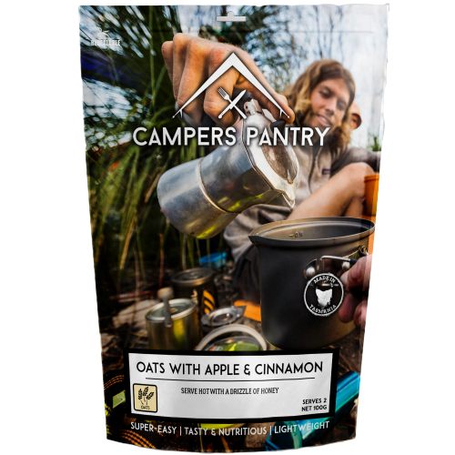 Campers Pantry : Oats With Apple & Cinnamon- 2 Serve