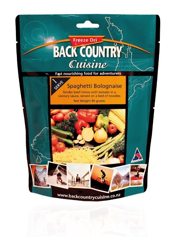 Back Country : Spaghetti Bolognaise - 2 Serve